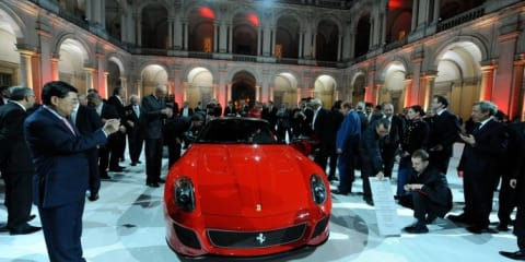 Ferrari 599 GTO sold out ahead of public reveal at Beijing Motor Show