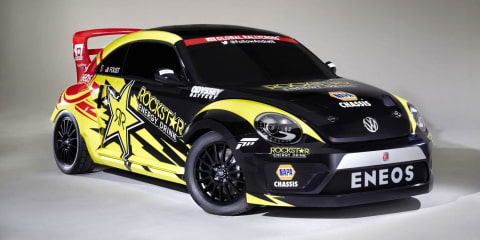 Volkswagen Beetle : 417kW Global Rally Cross car revealed