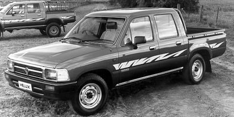 1993 TOYOTA HILUX DX