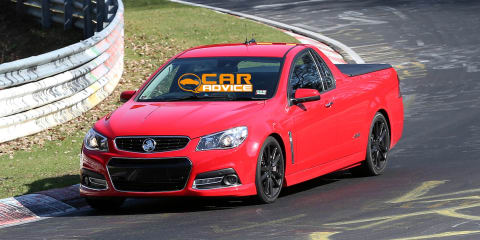 Holden VF Commodore Ute clocks 8min 20sec at Nurburgring
