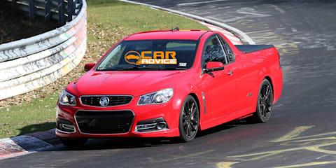 Holden VF Commodore Ute clocks 8min 20sec at Nurburgring