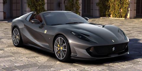 2020 Ferrari 812 GTS Spider unveiled