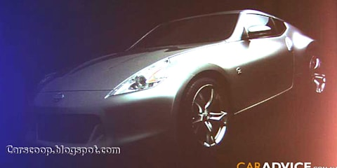 Nissan 370Z official image leaked