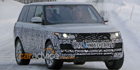 2016 Range Rover facelift spy photos