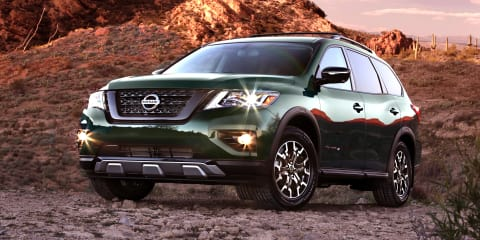 Nissan Pathfinder Rock Creek Edition revealed for the US