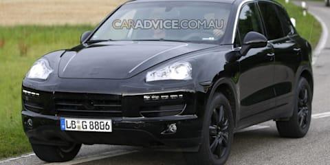 2011 Porsche Cayenne SUV spied