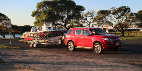 2017 Holden Trailblazer LTZ review: Towing
