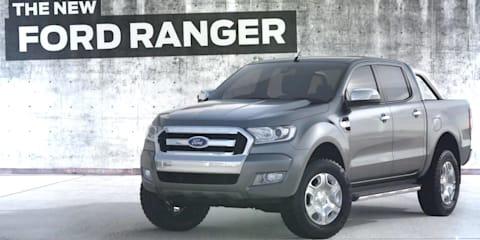 2015 Ford Ranger facelift teased in new video