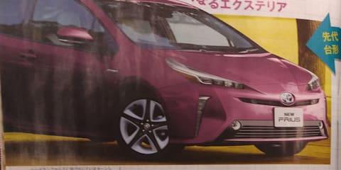 2019 Toyota Prius leaked