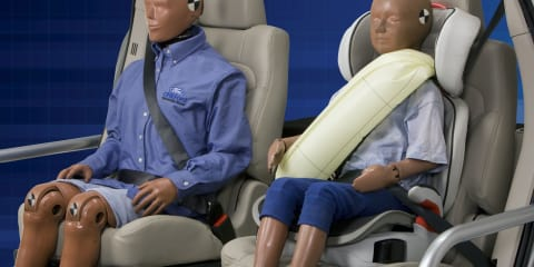 Ford introduces seatbelt-airbag hybrid