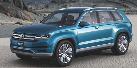 Volkswagen CrossBlue concept previews future people-mover