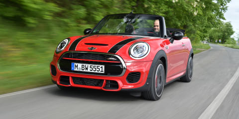 2016 Mini JCW Convertible pricing and specifications