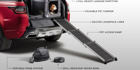 Land Rover confirms pet-friendly accessories headed for Australia