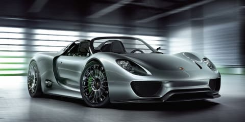 Porsche 918 Spyder purchase price to nudge $750,000