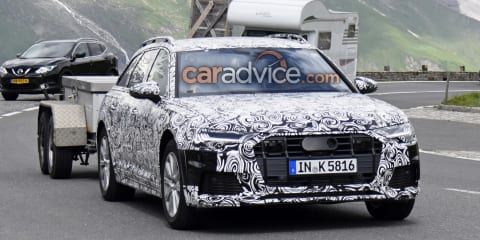 2019 Audi A6 Allroad spied