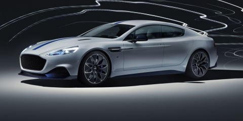 2019 Aston Martin Rapide E revealed