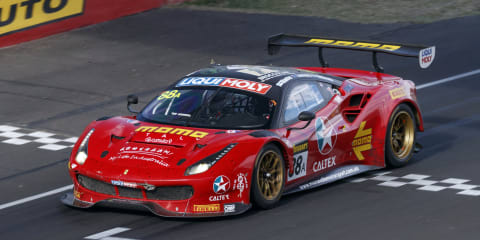 Ferrari wins bruising Bathurst battle