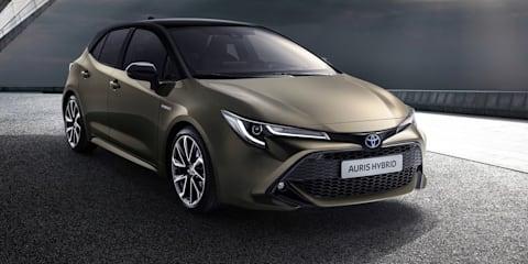 2018 Toyota Corolla unveiled
