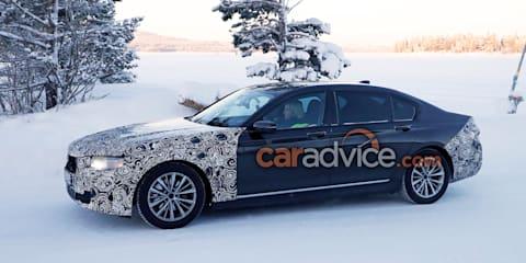 2019 BMW 7 Series 'LCI' spied