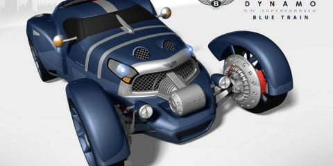 Bentley Blower concept by Mark Senger