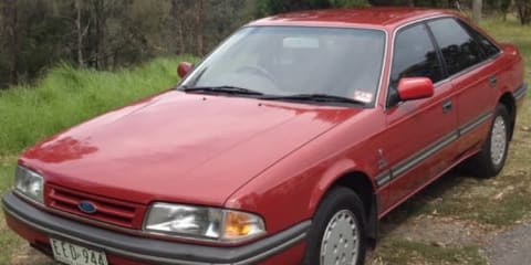 1989 Ford Telstar TX5 Ghia Review