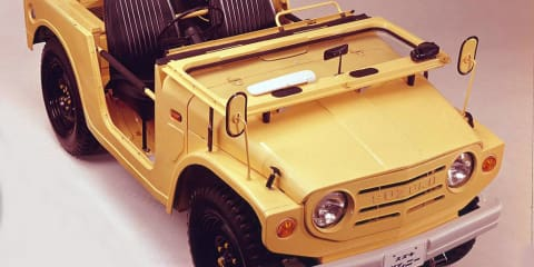 Suzuki's Jimny Sierra celebrates 40th anniversary