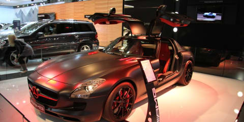 Mercedes-Benz SLS AMG Blackbird 1000th AMG sold in Australia for 2010