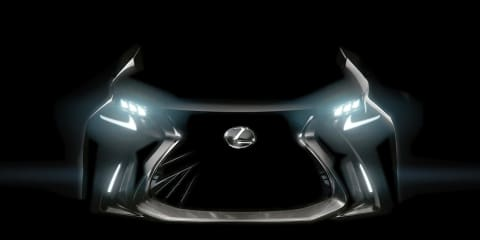 Lexus LF-SA concept teased ahead of Geneva debut, tipped to preview new small car