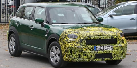 2020 Mini Countryman spied again