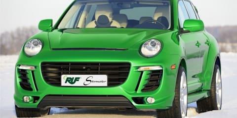 eRuf Stormster a plug-in Porsche Cayenne