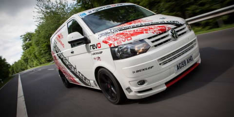 Volkswagen van sets new Nurburgring record