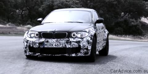 Video: BMW 1 Series M Coupe prototype in-car race footage