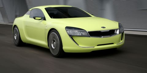 Kia coupe concept V8 to be revealed at Frankfurt: report
