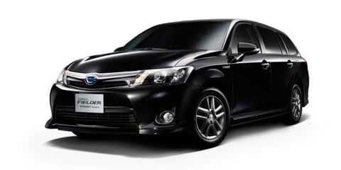 Toyota Corolla Axio, Fielder: Japan-only hybrid duo launched