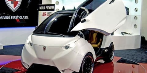 DOK-ING XD Croatian EV revealed at Los Angeles
