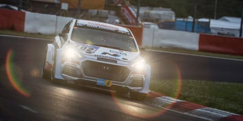 Hyundai i30 N prototype puts on 2300km test for 24 hours of Nurburgring