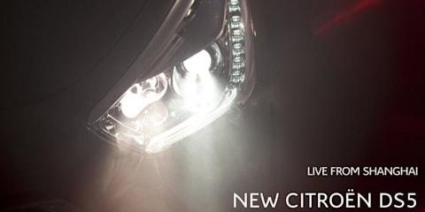 Citroen DS5 teased ahead of Auto Shanghai 2011 unveiling