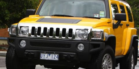 2007-2009 Hummer H3 recalled in Australia