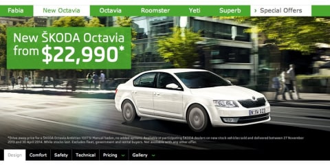 Skoda Octavia: $22,990 driveaway price, capped-price servicing revealed