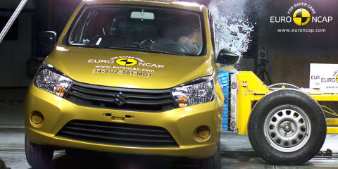 Suzuki Celerio gets four-star ANCAP rating amid braking issue