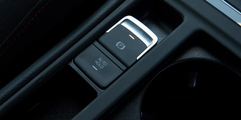 Can you handbrake turn with an e-parking brake?
