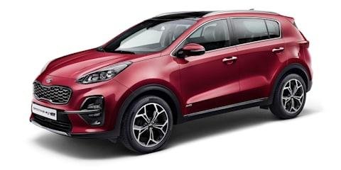 2018 Kia Sportage facelift unveiled