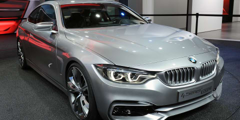 BMW 4 Series Coupe concept premieres in Detroit