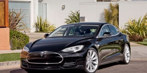 Tesla Model S Alpha images, on sale in Australia in 2013