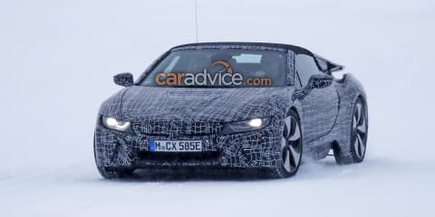 2018 BMW i8 Roadster teased in new video