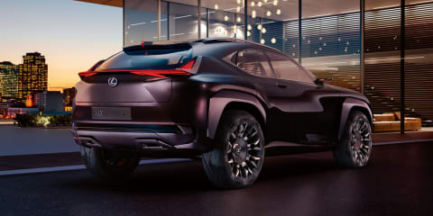 Lexus UX Concept:: rear revealed, full debut coming in Paris