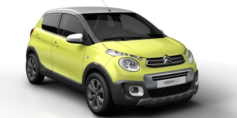 Citroen C1 Urban Ride concept hints at tiny new SUV