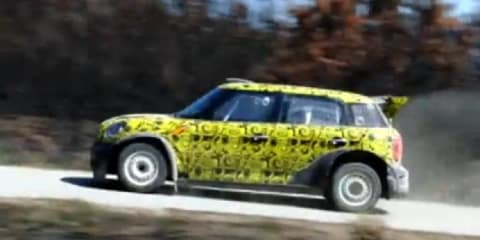 Video: Mini Countryman WRC prototype spied testing in Portugal