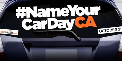 Name Your Car Day: Sunday October 2, 2016