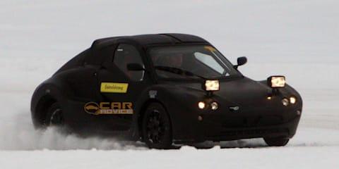 Electric Sports Car Spyshot mystery